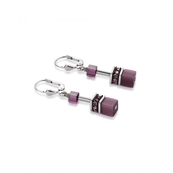 Coeur-de-Lion-Earrings-Purple-4322-20-0800-JoolsJewellery.co.uk